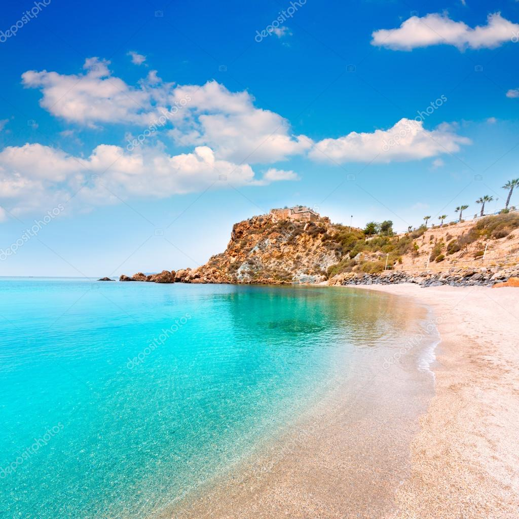 playas murcia espana
