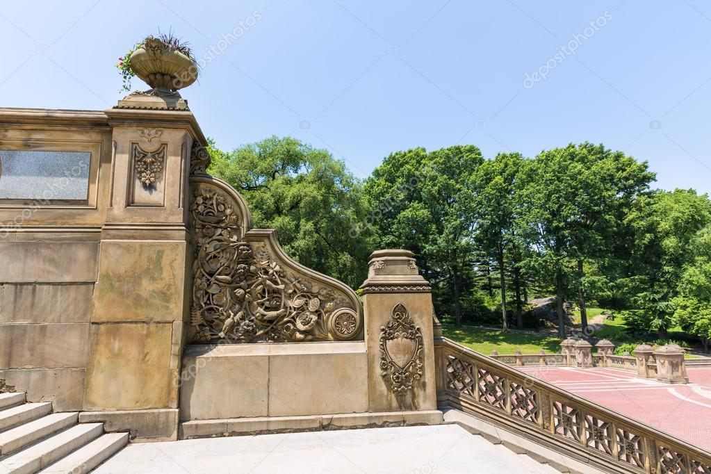 Central Park Bethesda Terrace Stairs New York U2014 Stock Photo #62314339