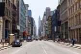 Soho fasády v Manhattan New York City