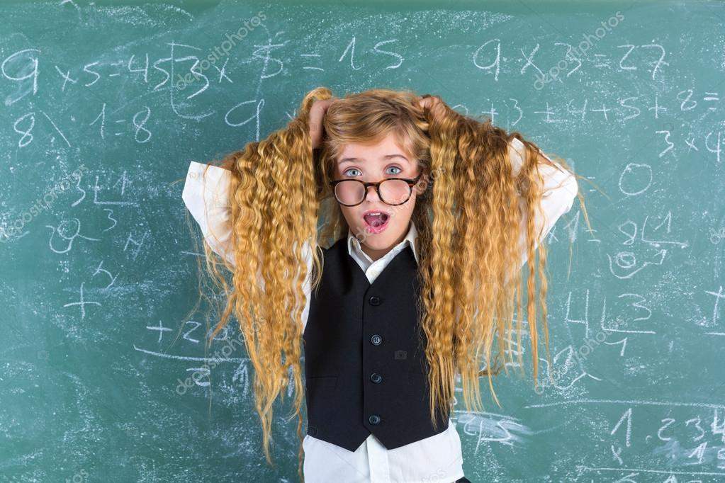Girl hair nerd Nerd Hair