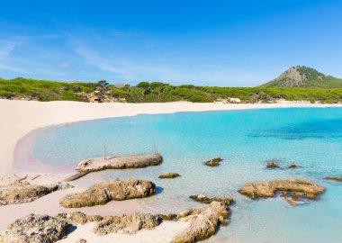 Majorca Cala Agulla beach in Capdepera Mallorca