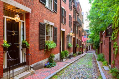 Acorn street Beacon Hill cobblestone Boston