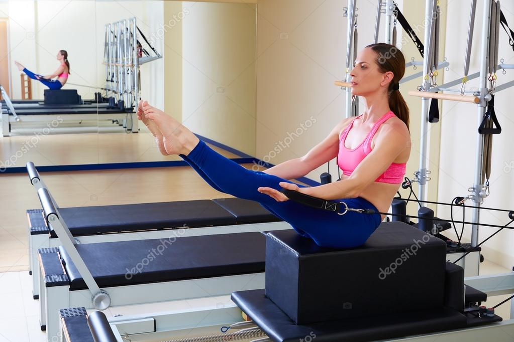 Fotos Reformer Pilates Pilates Reformer Woman Short Box