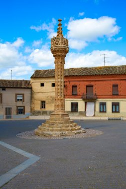 Boadilla del Camino Gothic rollo Saint James Way