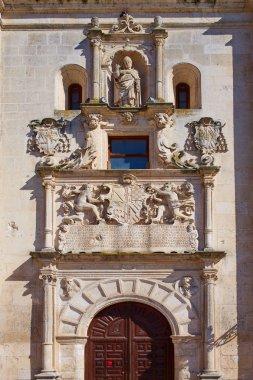 Burgos Cardenal Lopez Mendoza building Spain