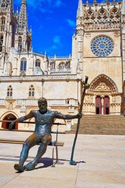 Burgos to Pilgrim in Cathedral Saint James Way