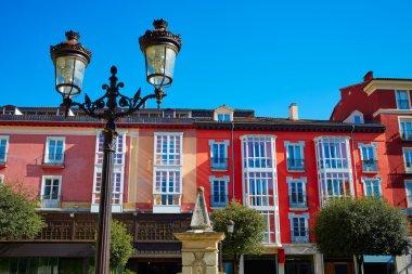 Burgos plaza de la Libertad square Castilla Spain