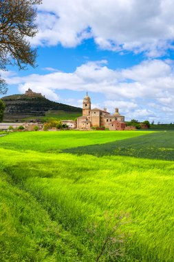 Castrojeriz in the way of Saint James at Castilla
