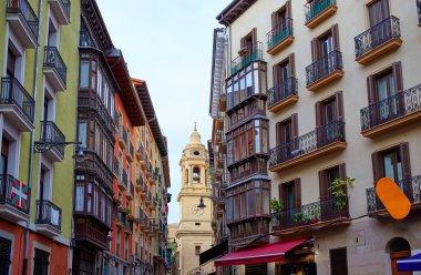 Pamplona Navarra Spain plaza del Castillo