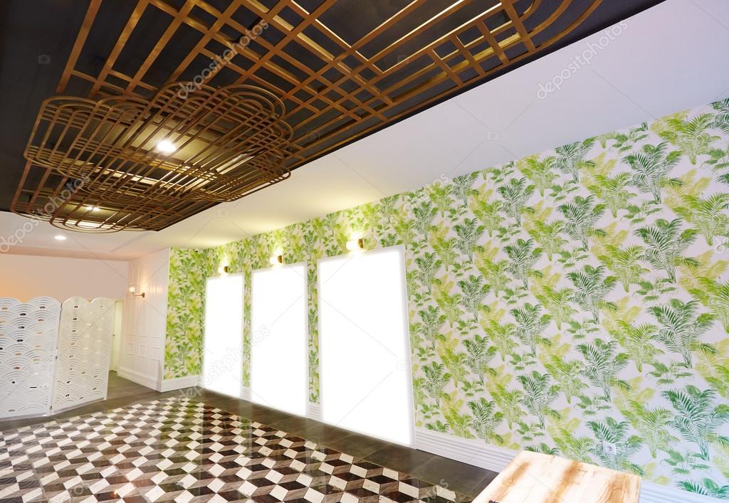 Art Déco inspiriert Salon Interieur — Stockfoto © lunamarina ...