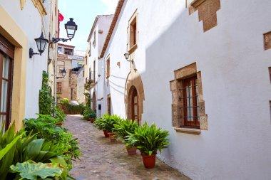 Tossa de Mar old town Vila Vella in Costa Brava