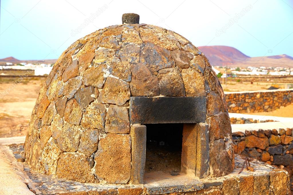 Horno de piedra de fuerteventura islas canarias foto de - Hornos de piedra ...