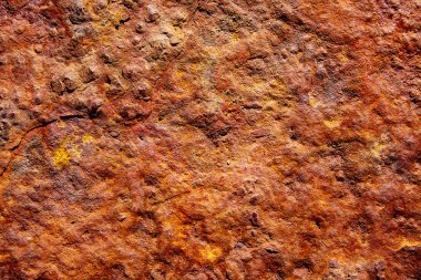 Aged rusted iron steel texture background