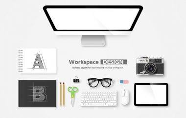 Workspace. Vector