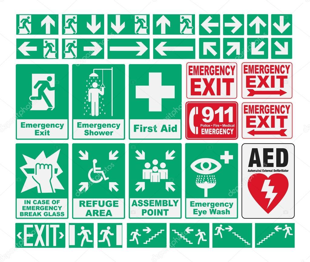Emergency Evacuations Sings