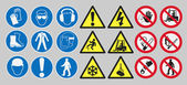 Fotografie Work safety signs