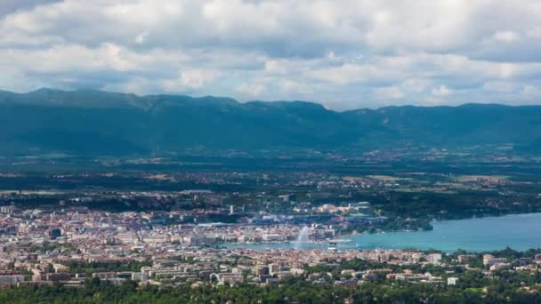 Timelapse of the Geneva from the Saleve