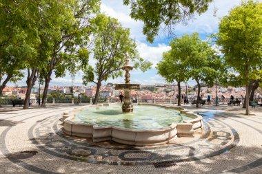 Sao Pedro de Alcantara viewpoint fountain