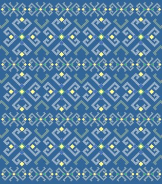Ethnic geometric pattern, background