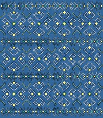 Ethnic geometric pattern, background.
