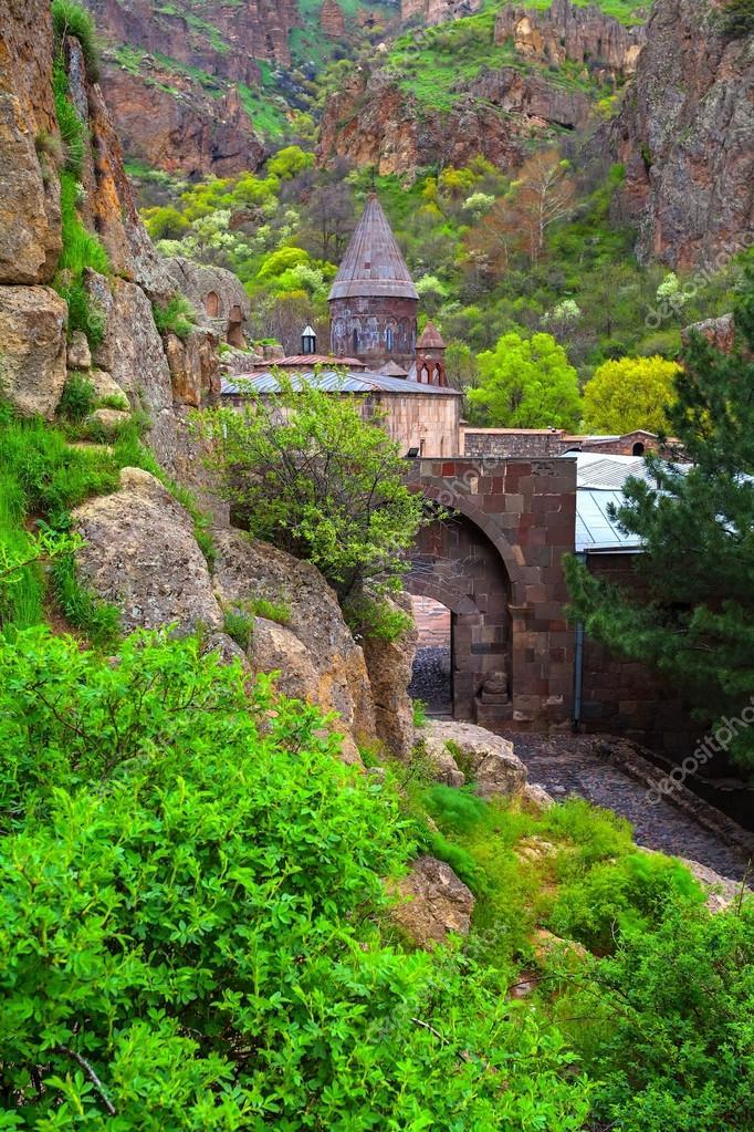 The temple GEGHARD monastery (Armenia)