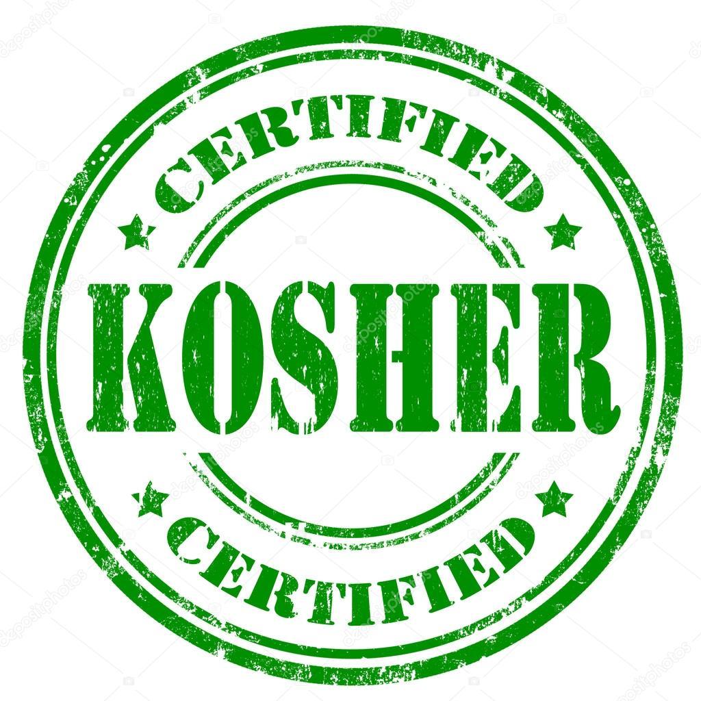 Resultado de imagen para sello de kosher