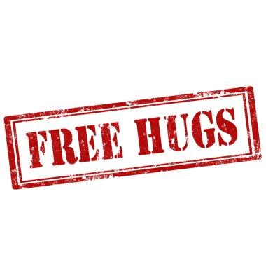 Free Hugs-stamp