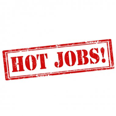 Hot Jobs-stamp
