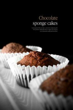 Chocolate Sponge Cakes
