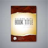 Modern Vector book cover template