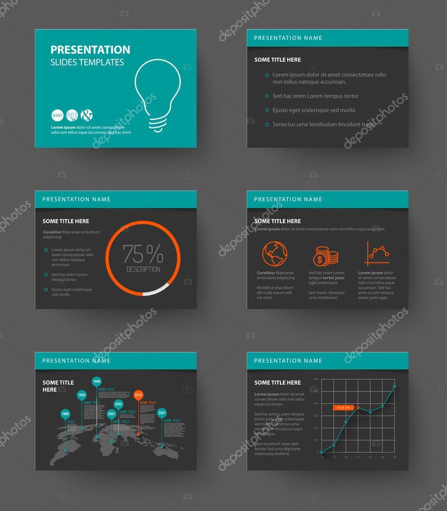 Template for presentation slides