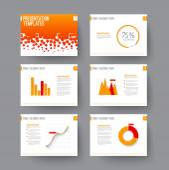 Fotografie Template for presentation slides