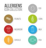 Ikony pro alergeny