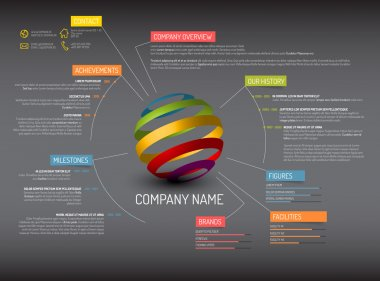 Company overview template