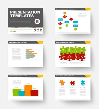 Template for presentation slides