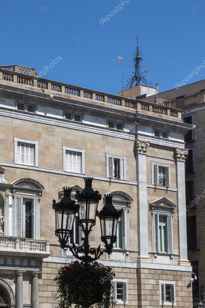 Palau De La Generalitat De Catalunya Stock Editorial Photo