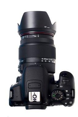 Modern dslr photographic camera