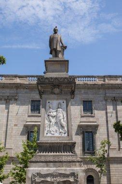 Statue details of Antonio Lopez
