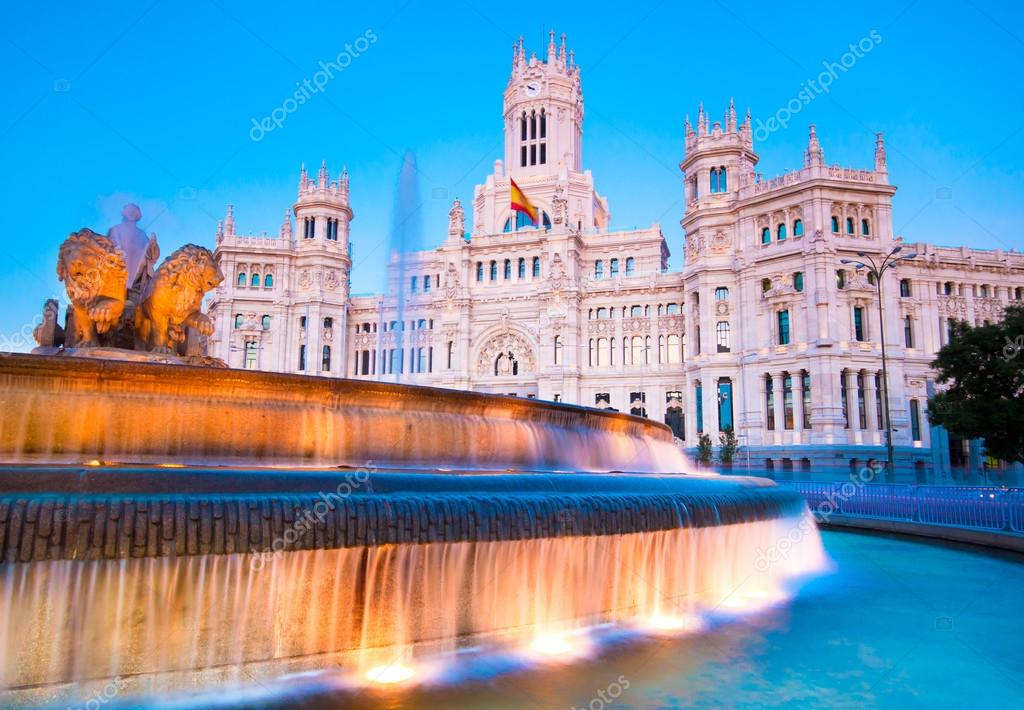 Plaza De Cibeles Madrid Spain Stock Photo Kasto 70269929