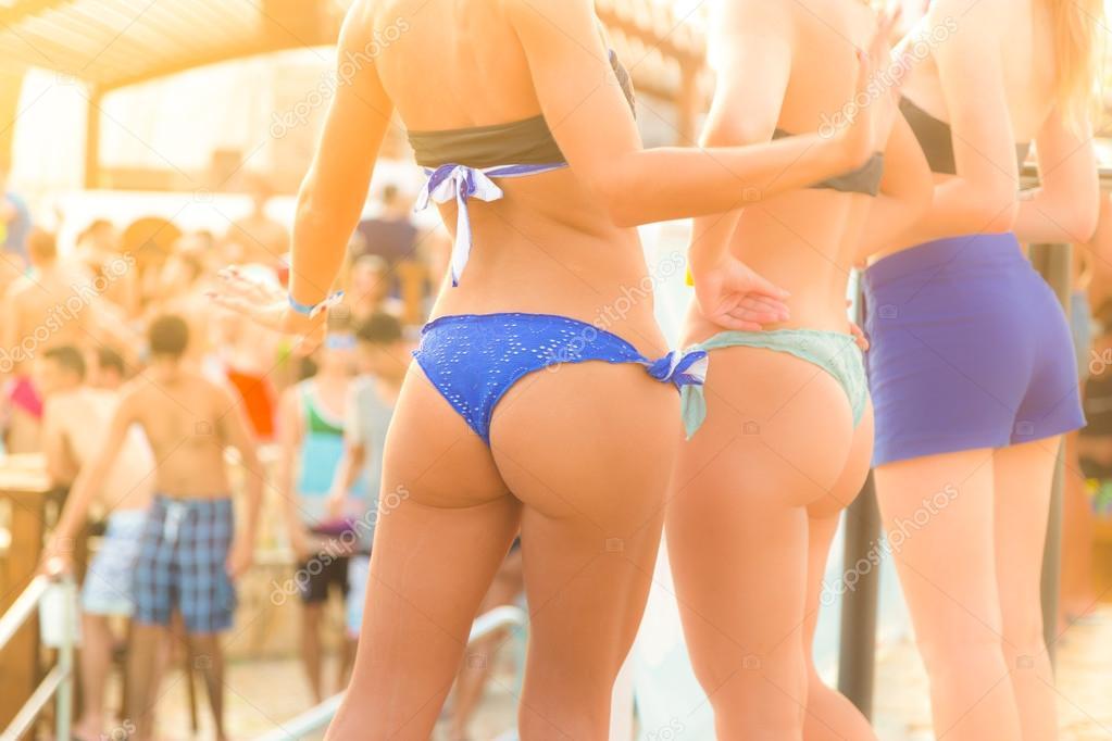 Nude mature couple beach