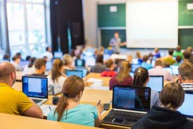 Informatics workshop at university.