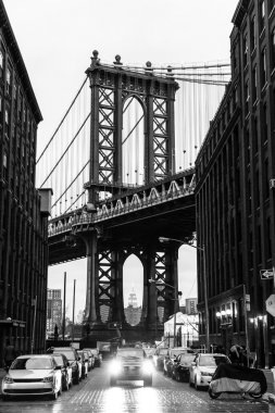 Manhattan Bridge, New York City, USA.