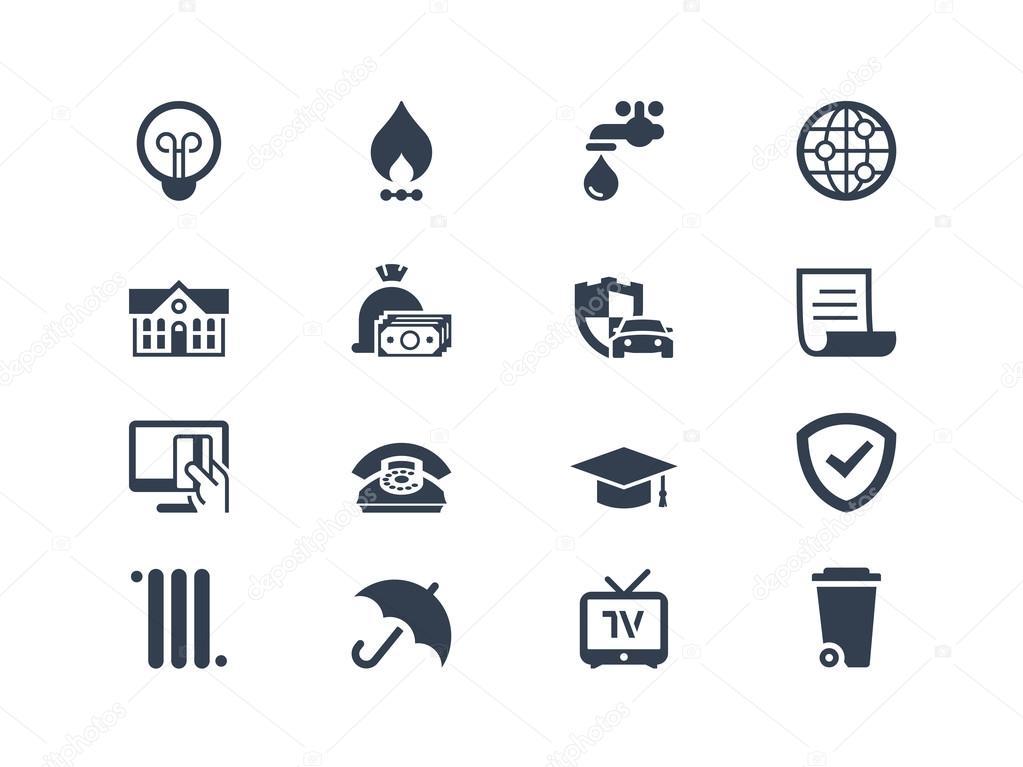 Billing icons
