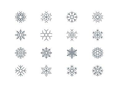 Snowflake icons 5