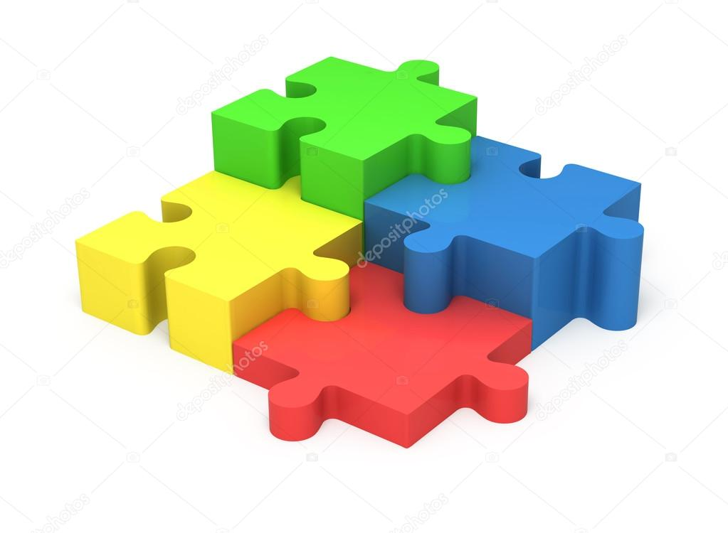 3d puzzle pieces concept teamwork stock photo buradaki 109442782 3d colorful puzzle pieces isolated on white background concept teamwork photo by buradaki ccuart Gallery