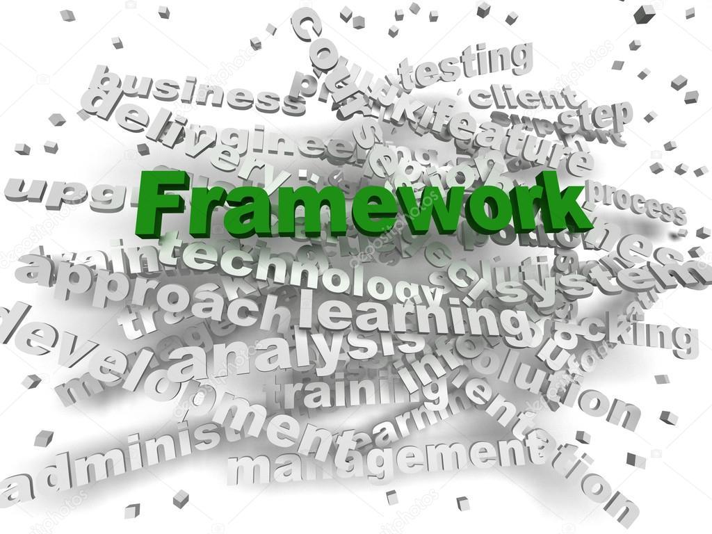 3D Bild Rahmen Word cloud-Konzept — Stockfoto © dacasdo #112313600