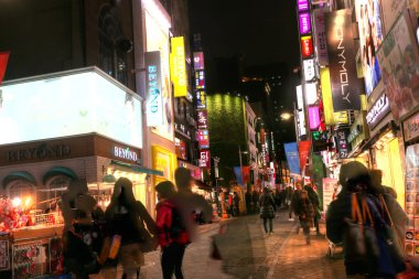 SEOUL, KOREA, NOV 9: Myeong-dong was listed as the ninth most ex