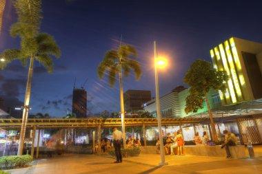 MANILA - MAY 17: Landscape of Bonifacio High Street in Taguig Ci