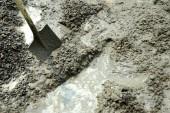 Fotografie Zement mischen für Bau