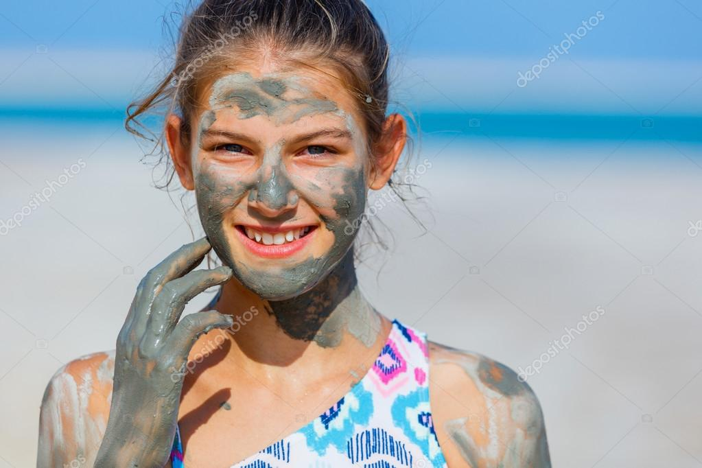 Girl At The Dead Sea, Israel.